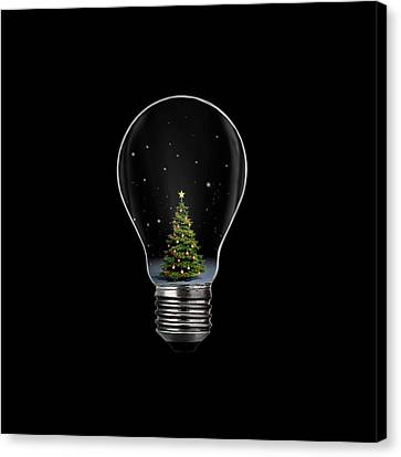 Christmas Canvas Print by Octyee