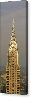 Chrysler Building New York Ny Canvas Print by Panoramic Images