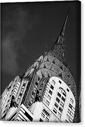 Chrysler Building's Apex Canvas Print by James Aiken