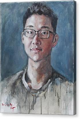Chunjoo Park Canvas Print by Becky Kim