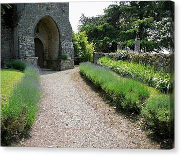 Church Entrance - South West France Canvas Print by Dagmar Batyahav