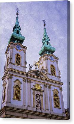 Church Of St Anne Budapest Canvas Print by Joan Carroll