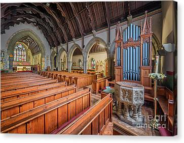 Church Of St. David Canvas Print by Adrian Evans