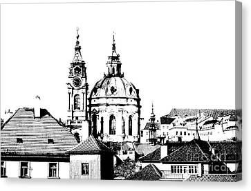 Church Of St Nikolas Canvas Print by Michal Boubin