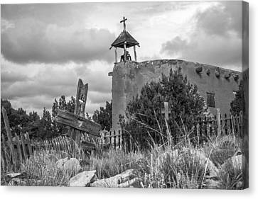 Church Of The Cross Canvas Print by Steven Bateson