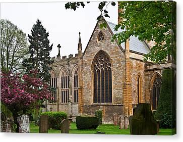 Church Of The Holy Trinity Stratford Upon Avon 3 Canvas Print by Douglas Barnett