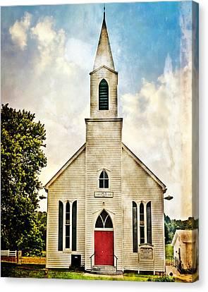 Church On 8 Canvas Print by Marty Koch