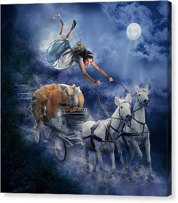 Cinderella Canvas Print by Karen Alsop