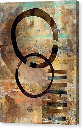 Circular Lines Canvas Print by Carol Leigh