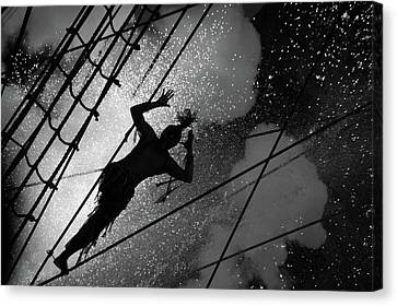 Circus Show Performance Canvas Print by Akos Horvath