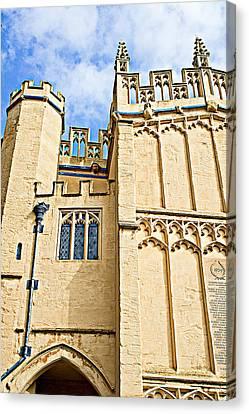 Cirencester Parish Church Canvas Print by Tom Gowanlock