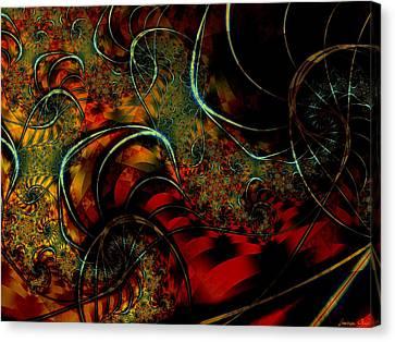 Cirque Canvas Print by Lauren Goia