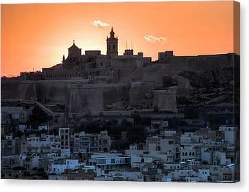Cittadella - Gozo Canvas Print by Joana Kruse