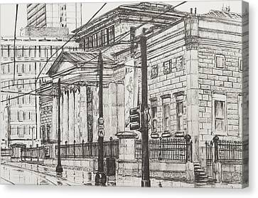 City Art Gallery Canvas Print by Vincent Alexander Booth