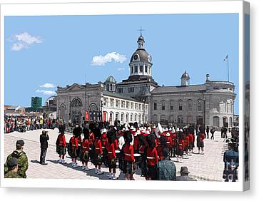 City Hall Canvas Print by Kevin Sweeney