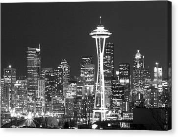 City Lights 1 Canvas Print by John Gusky