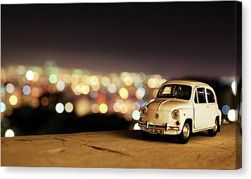 City Lights Canvas Print by Ivan Vukelic