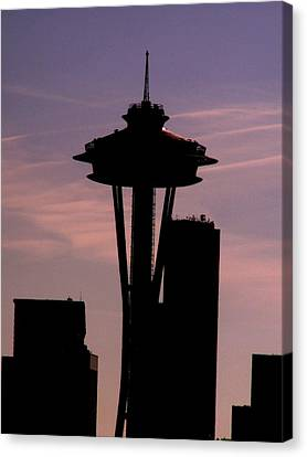 City Needle Canvas Print by Tim Allen