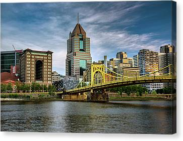 City Of Bridges Canvas Print by Rick Berk