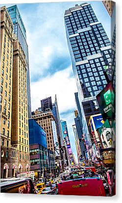 City Sights Nyc Canvas Print by Az Jackson