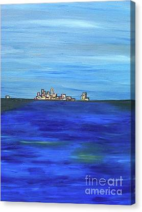 City View Canvas Print by Jazmine  Gallery