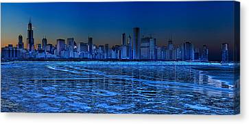 Cityscape Canvas Print by Justin W. Kern