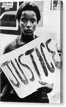 Civil Rights, 1961 Canvas Print by Granger
