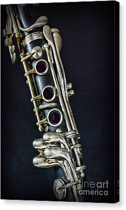 Clarinet Canvas Print by Paul Ward