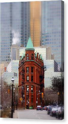 Class Amongst The Glass Canvas Print by Russell Styles