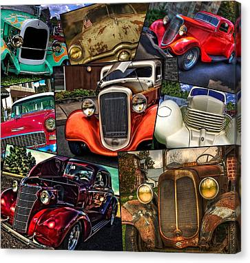 Classic Car Heaven  Canvas Print by Thom Zehrfeld