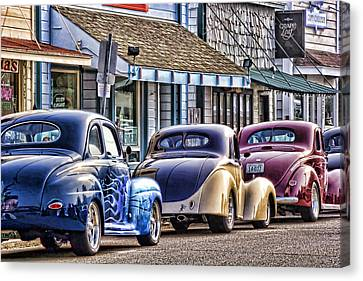 Classic Car Show Canvas Print by Carol Leigh