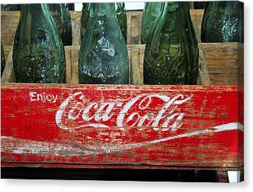 Classic Coke Canvas Print by David Lee Thompson