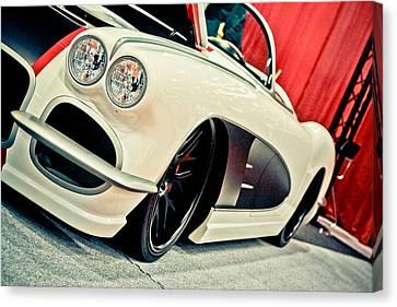 Classic Corvette Canvas Print by Merrick Imagery