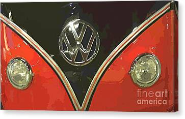 Classic Volkswagen Canvas Print by Cheryl Young