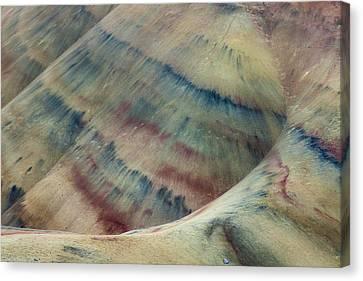 Clay Palette Canvas Print by Thorsten Scheuermann