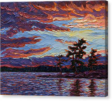 Clearing Skies Canvas Print by Rob MacArthur