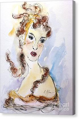 Cleopatra Canvas Print by Cristina Stefan