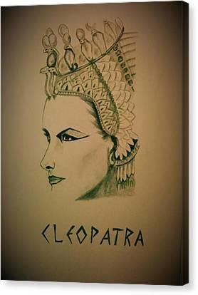 Cleopatra Canvas Print by Kiran Kumar