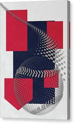 Cleveland Indians Art Canvas Print by Joe Hamilton