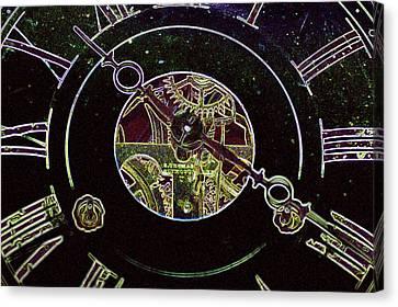 Clockwork Canvas Print by Holly Ethan