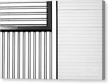 Closed Air Grating Canvas Print by Jan Brons
