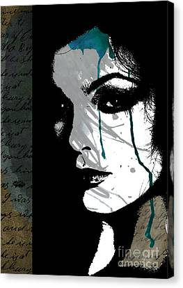 Closure Canvas Print by Ramneek Narang