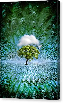 Cloud Cover Recurring Canvas Print by Mal Bray