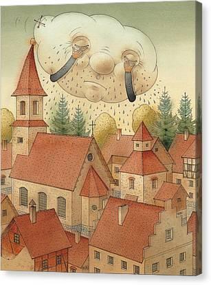 Cloud Canvas Print by Kestutis Kasparavicius