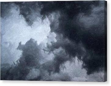 Cloudy Now Canvas Print by Taylan Soyturk