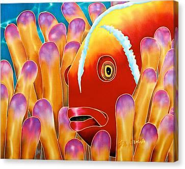 Clown Fish  Canvas Print by Daniel Jean-Baptiste
