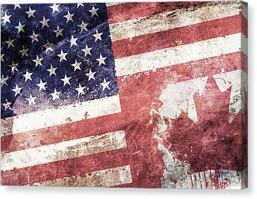 Co-patriots  Canvas Print by Az Jackson