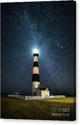 Coastal Nights Canvas Print by Anthony Heflin