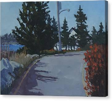 Coastal Road Canvas Print by Bill Tomsa