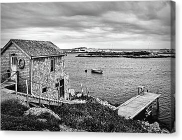 Coastal Scene - St. Margaret's Bay - Canada Canvas Print by Nikolyn McDonald